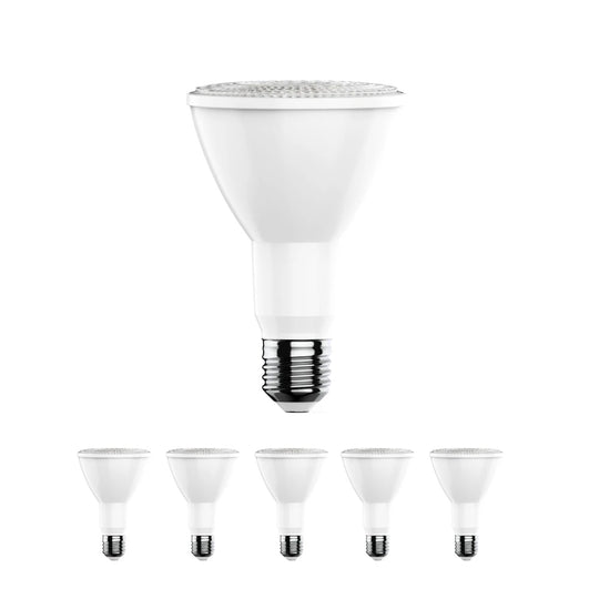 PAR38 LED Light Bulbs - 16.5 Watt 5000K - 1200LM High CRI 90+