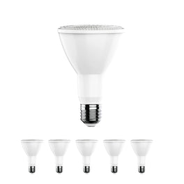 LED Bulb - PAR30 Long Neck - 3000K - Warm White -12 Watt - 75 Watt Equivalent High CRI 90+