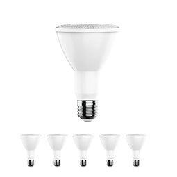 LED Bulb - PAR30 Long Neck - 5000K - Day Light White -12 Watt - 45 Watt Equivalent High CRI 90+