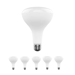 BR40 LED Light Bulbs - 5000K - 15.5Watt - 85Watt Equivalent - Energy Star