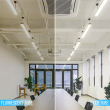 Load image into Gallery viewer, T8 8ft 48w R17 LED Tube Light 5760 Lumens 5000k Clear