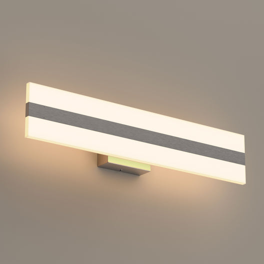 Rectangle LED Vanity Lights, 24 Inch/36 Inch, 4000K (Cool White), Dimmable, ETL Listed, Bathroom Vanity Wall Lights