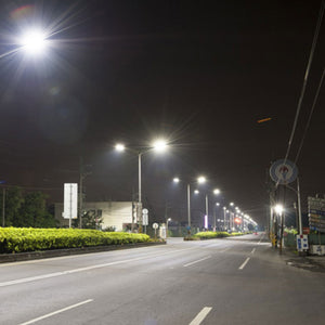 300W LED Pole Light With Photocell Style view