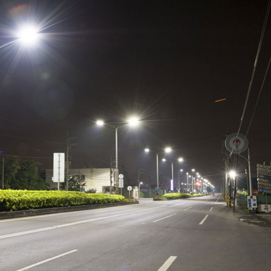 150W LED Pole Light With Photocell Style view