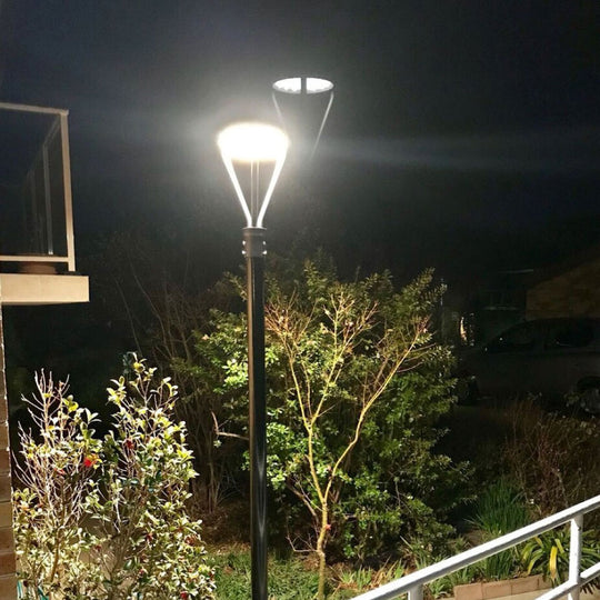 LED Post-Top / Garden Light With Photocell 100 Watts ; AC100-277V, Bronze