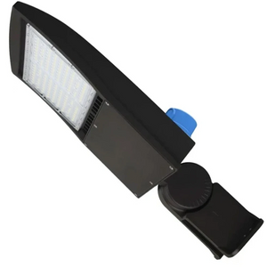 150W LED Pole Light with Photocell - 5700K - Yoke Mount Bronze