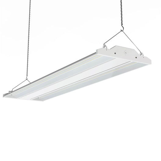 4ft LED Linear High Bay Light  300W - 5700K - Clear Cover, Dimmable