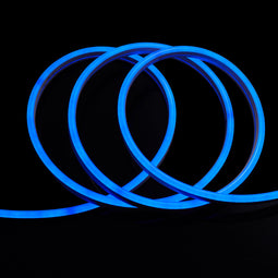 LED Neon Rope Light, 120V, UL Listed (Blue,Green,Red,Pink)