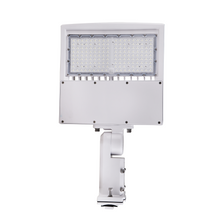 Load image into Gallery viewer, 150W LED Pole Light with Photocell150W LED Pole Light with Photocell, 5700K, Universal Mount, White, AC100-277V, Commercial Parking Lot Lights