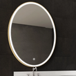 Load image into Gallery viewer, Oval LED Lighted Mirror, Touch Switch, Defogger and CCT Remembrance, Lunar Style