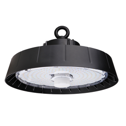240W Black UFO LED High Bay Light, Programmable Motion Sensor, 36000LM, 5700K