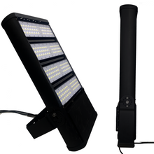 Load image into Gallery viewer, 600W LED Flood Light, 2100 Equivalent, 5700K, 83000LM, Bronze, UL DLC Listed, With U-Bracket