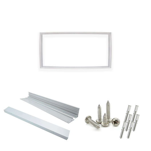 LED Panel 2X4 Surface Mount Kit