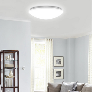 Mushroom Shape LED Flush Mount - 1050 Lumens - 11 Inch - Dimmable - Round Ceiling Light