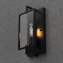Load image into Gallery viewer, Matte Black Wall Sconce Light, UL Listed for Damp Location, E26 Base, 3 Years Warranty