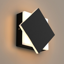 Load image into Gallery viewer, Modern Square Wall Sconce, 9W, 3000K, 338LM, CRI: 80+, Dimmable, Dimension: 6.7 x 2.1 x 6.7 Inch