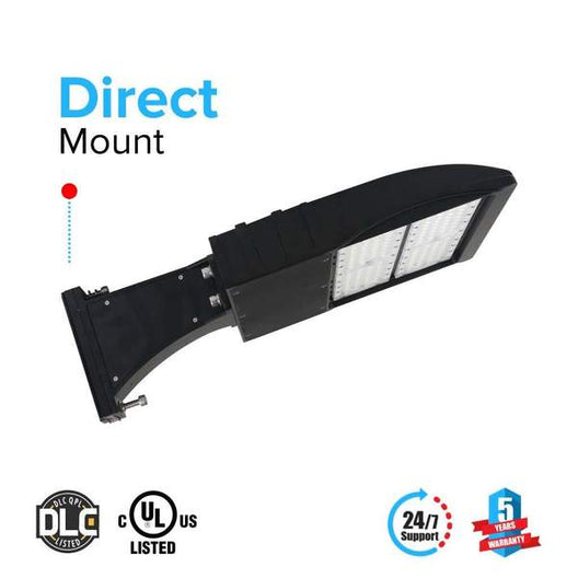 LED Pole Light 150 Watt 5700K Black DM