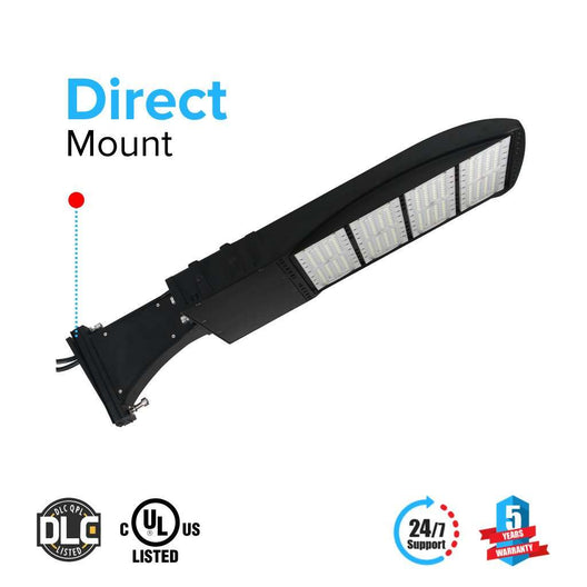 LED Pole Light 300 Watt Black 5700K DM - LEDMyplace