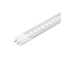 Load image into Gallery viewer, T8 4ft 22W LED Tube, 2-Row LED Tube, 5000K Clear Dual Ended Power
