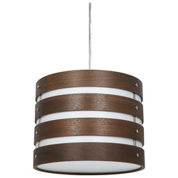 LFX/WC/PD/D/13W/C LED 13 Watt Pendant Drum Sconce, 3000K, Warm White, 600 Lumens ETL Listed