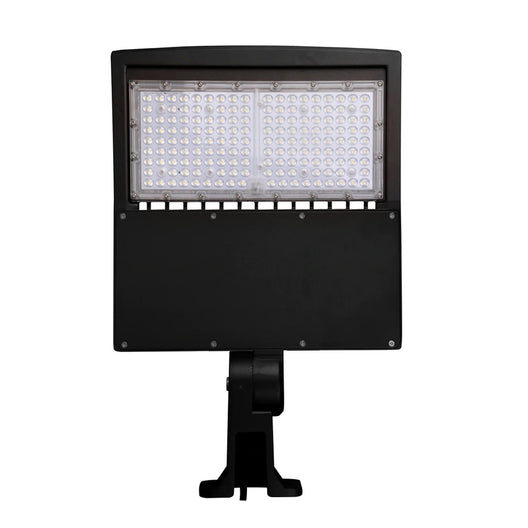150W LED Pole Light - 5700K - YM Bronze - AC100-277V, Commercial Grade LED Parking Lot Lights