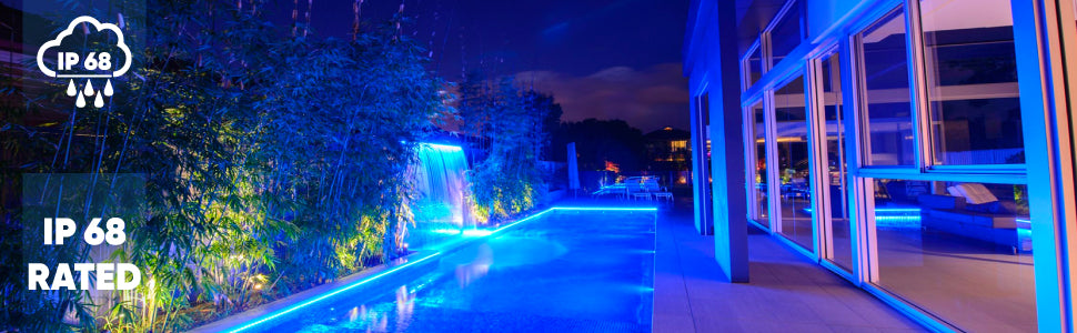 waterproof led strip lights for swimming pool