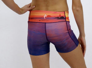 Radiance SUP Yoga Shorts
