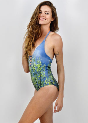 Aspen Storm Luxe One Piece Swimsuit