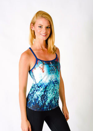 Yoga Tank with Built-in Bra