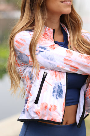 Bliss Blossom Mesh Jacket