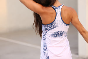 Sweat Creativity Mesh Racer Tank