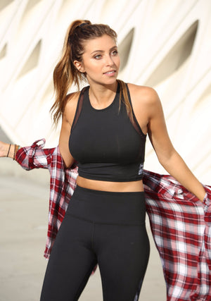 Halie Crop Bra