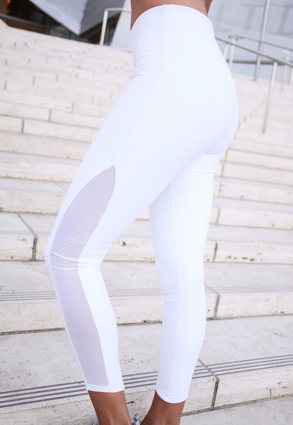 Pure White Leggings
