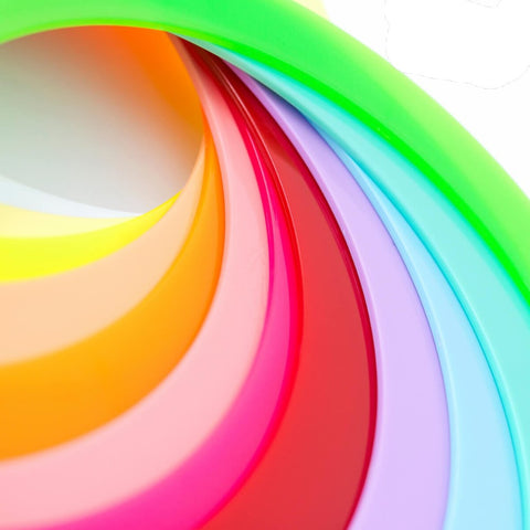 "Play Classic Juggling (1) 12.75"" Poly Ring - Pastel Colors"