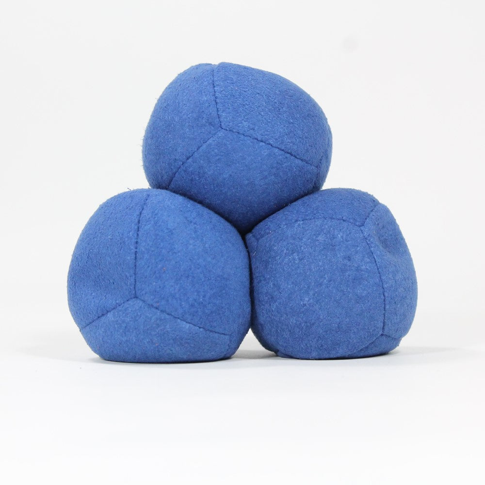 Zeekio Thud Juggling Ball Set - Lightweight 90g Beanbag Ball - Super Soft - Set of Three (3) Zeekio