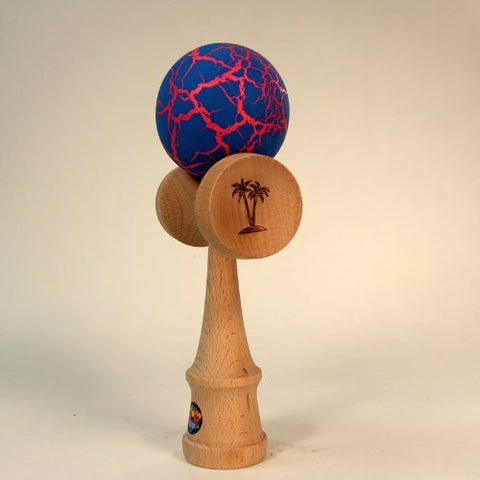 Bahama Kendama Grand Bahama Crackle Design- Jumbo Bahama Kendama