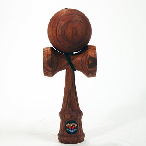 Bahama Kendama Deluxe Stained Zebrawood Kendama Bahama Kendama