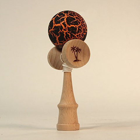"Bahama Kendama 4.5"" Pocket Kendama in Crackle Bahama Kendama"
