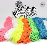 Twisted Stringz Yo-Yo Strings - Polyester - Solid Thick YoYo String - 100 Pack