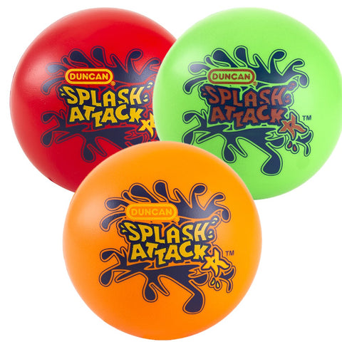 "Duncan Splash Attack XL Water Skipping Ball - 3.25"" Ball - Colors Vary"