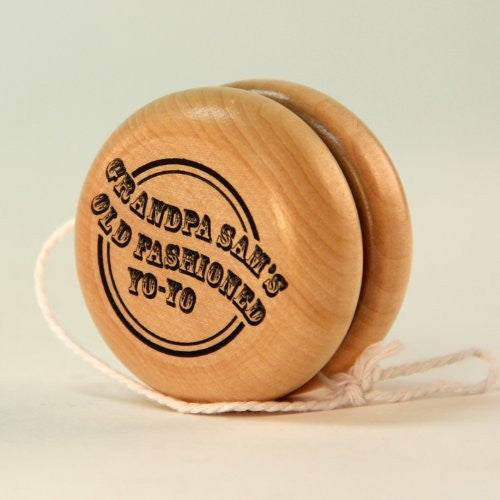 Grandpa Sam's Old Fashioned Wooden Yo-Yo by YoYoSam yoyosam