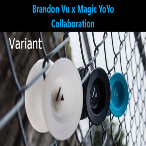 Magic YoYo Variant Yo-Yo - Polycarbonate Plastic - Jeffrey Pang and Brandon Vu Design YoYo