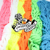 Twisted Stringz Yo-Yo Strings - Polyester - Solid Regular YoYo String - 100 Pack