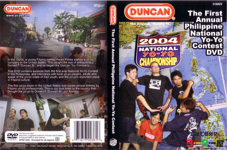 Duncan The First Annual Philippine National Yo-Yo Contest DVD 2004