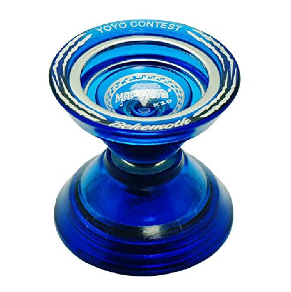 MAGICYOYO K10 Behemoth Yo-Yo - Polycarbonate with Metal Ring - Unresponsive YoYo - Super Wide! Super Fun!