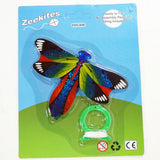 ZeeKites Mini Kite with Tail Ribbons! Ready to Fly! Assorted Lots Available!