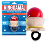 Ringdama Wooden Skill Toy - Kind of a Kendama and Ring mix