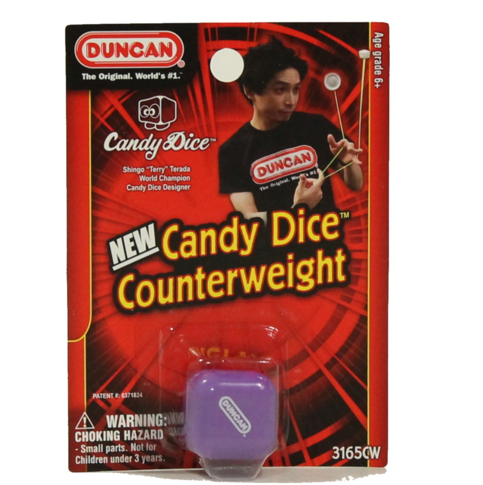 Duncan Candy Dice Counterweight by Shingo Terrada - OFFICIAL RELEASE AUGUST 7th
