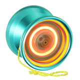 MagicYoYo Aurora LED Yo-Yo - Solid Color Lights - 6061 Aluminum YoYo