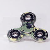 Fidget Spinner - Classic PVC in Designer Prints - With Brushed Steel Bearing
